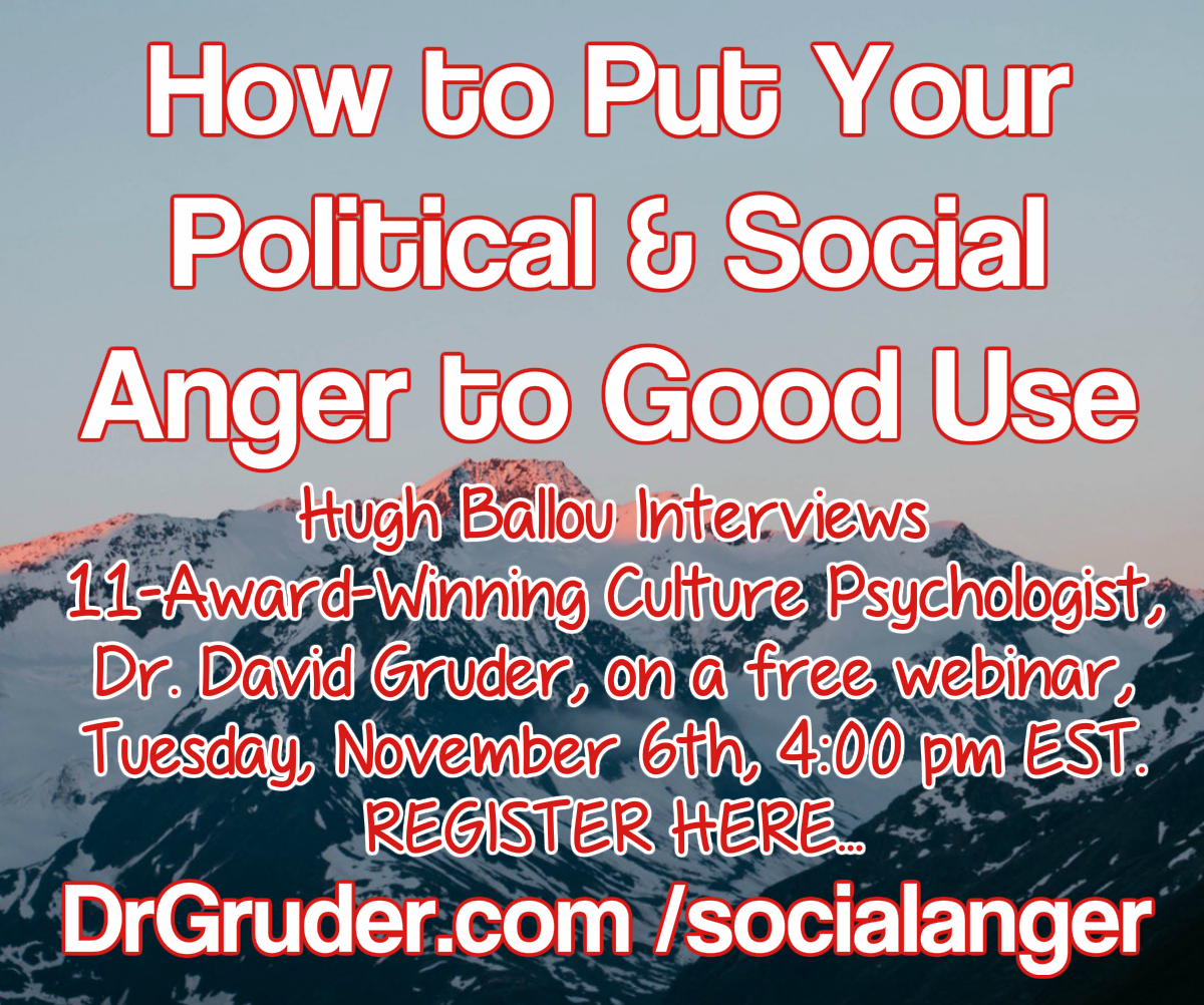 Put Your Social Anger to Good Use